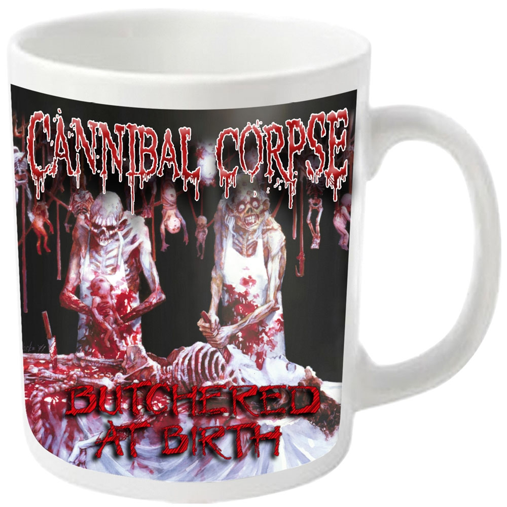 Cannibal Corpse - Butchered (White Mug)