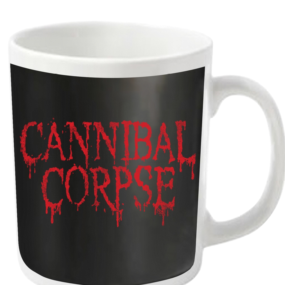 Cannibal Corpse - Dripping Logo (White Mug)