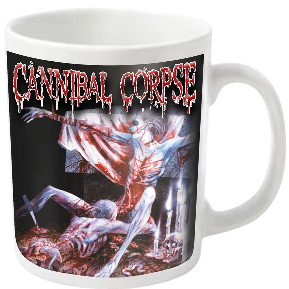 Cannibal Corpse - Tomb (White Mug)