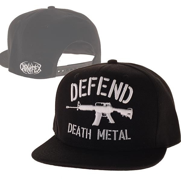 Carnifex - Defend Death Metal (Black)
