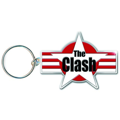 The Clash - Stars & Stripes (Keyring)