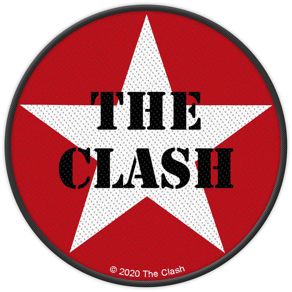 The Clash - Military Logo