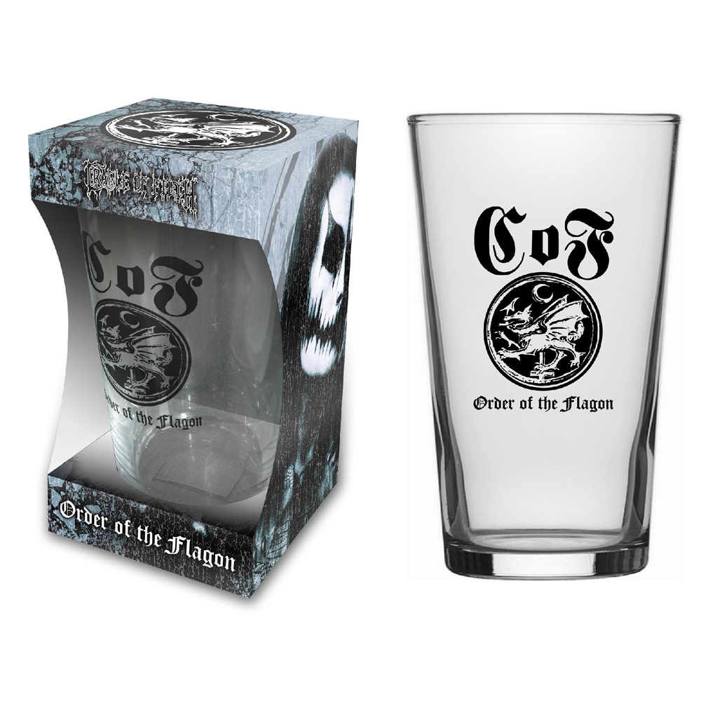 Cradle Of Filth - Order Of The Flagon (Beer Glass)