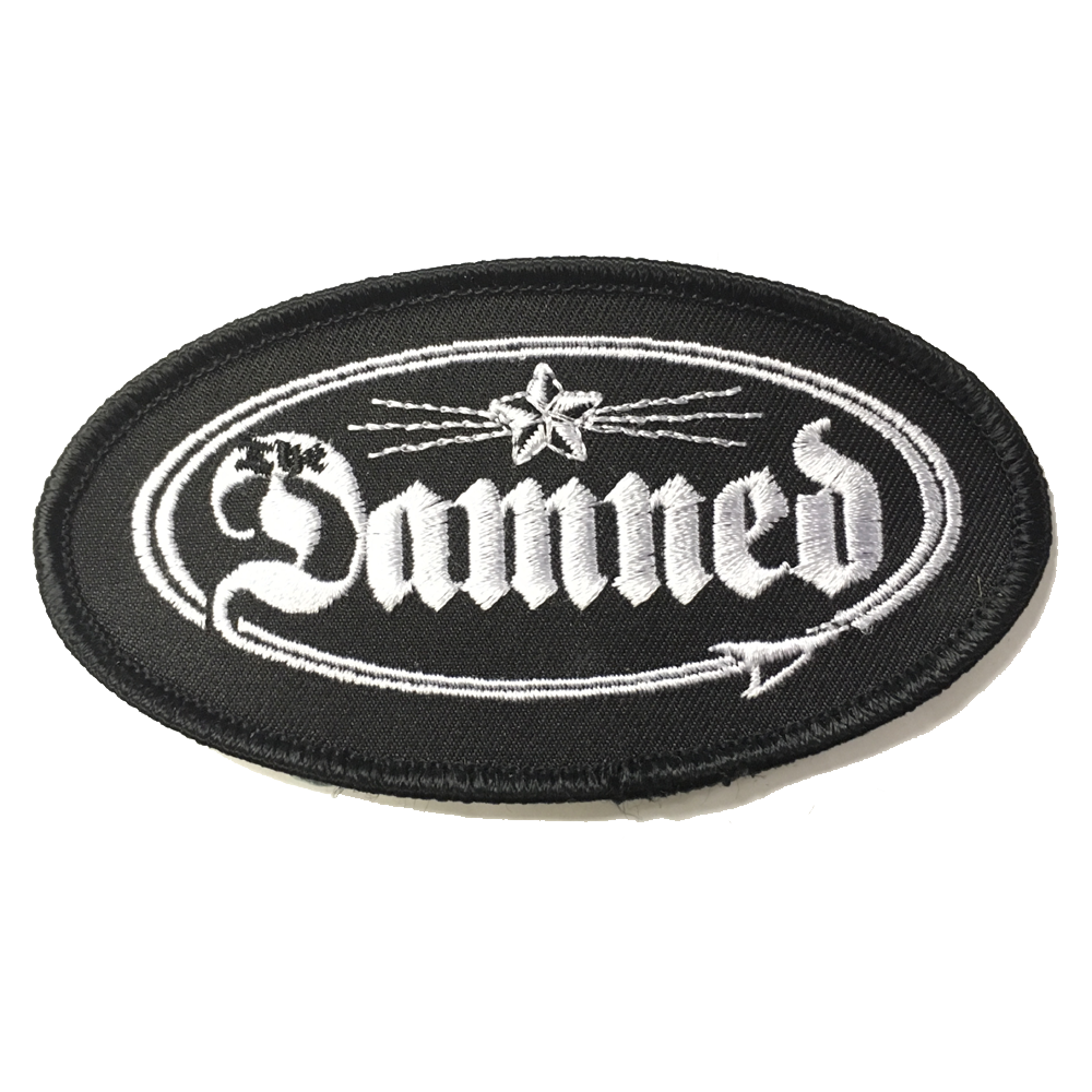 The Damned - Embroidered Oval Logo Patch