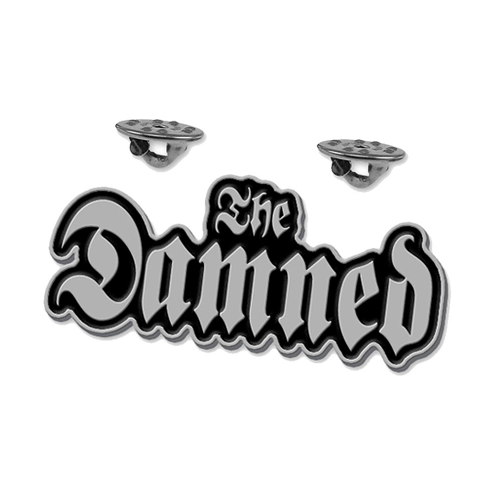 The Damned - Logo Enamel Pin Badge (Metallic)
