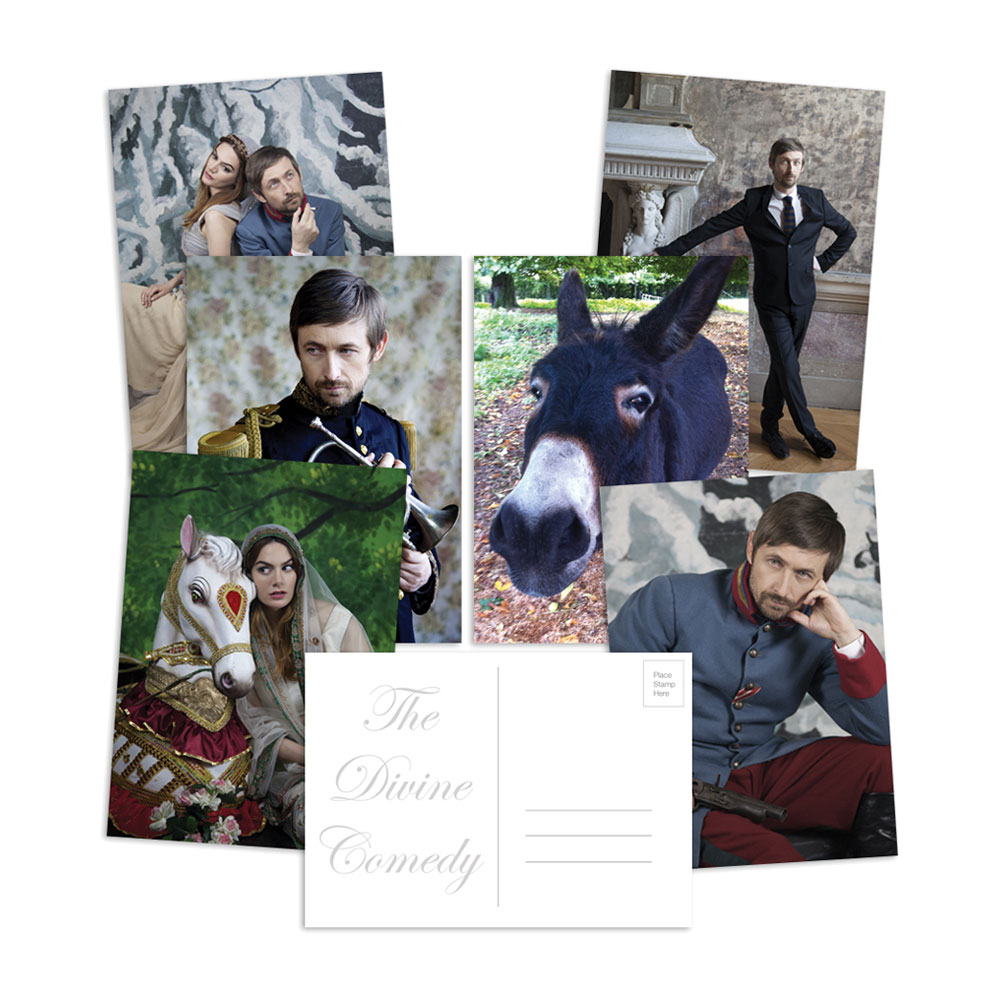 The Divine Comedy - Photo Postcard (Set of 6)