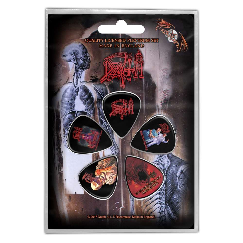 Death - Albums Plectrum Pack