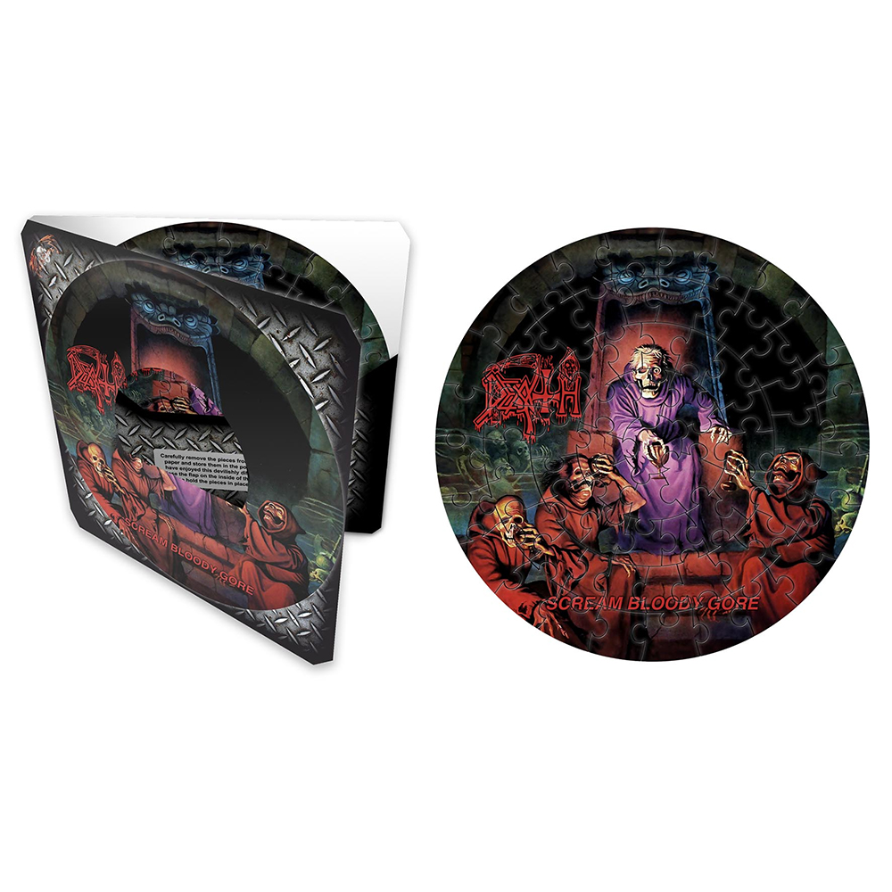 Death - Scream Bloody Gore (72 Piece Jigsaw Puzzle)