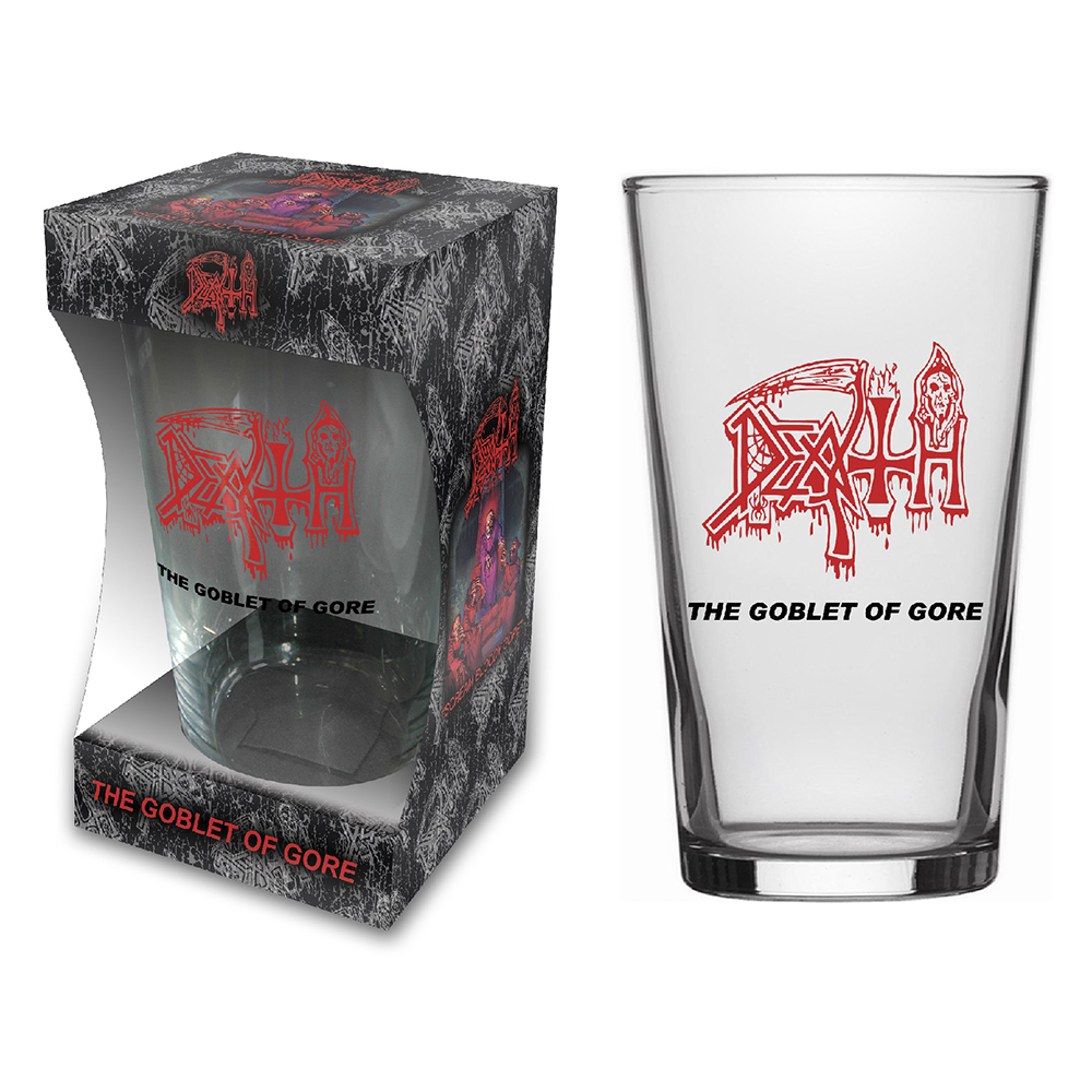 Death - The Goblet Of Gore (Beer Glass)