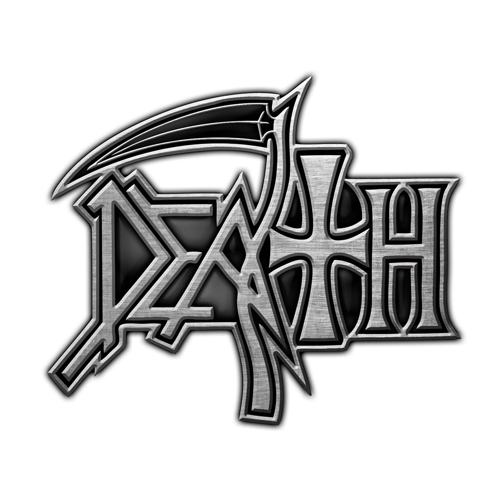 Death - Logo (Metal Pin Badge)