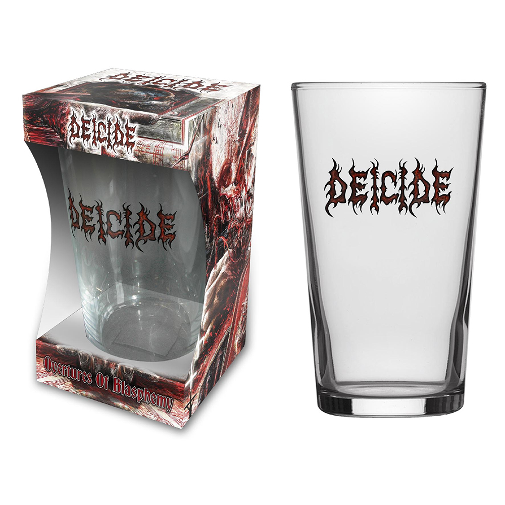 Deicide - Logo (Beer Glass)