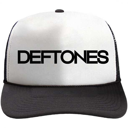 Deftones - Text Two Tone - Mesh Cap