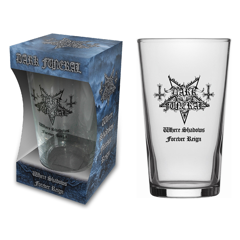 Dark Funeral - Where Shadows (Beer Glass)