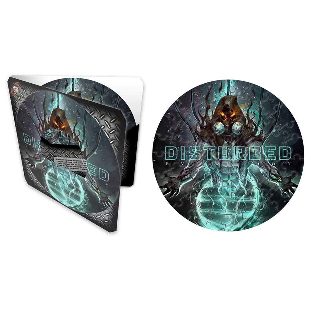"Disturbed - Evolution (7"" 72 Piece Puzzle)"