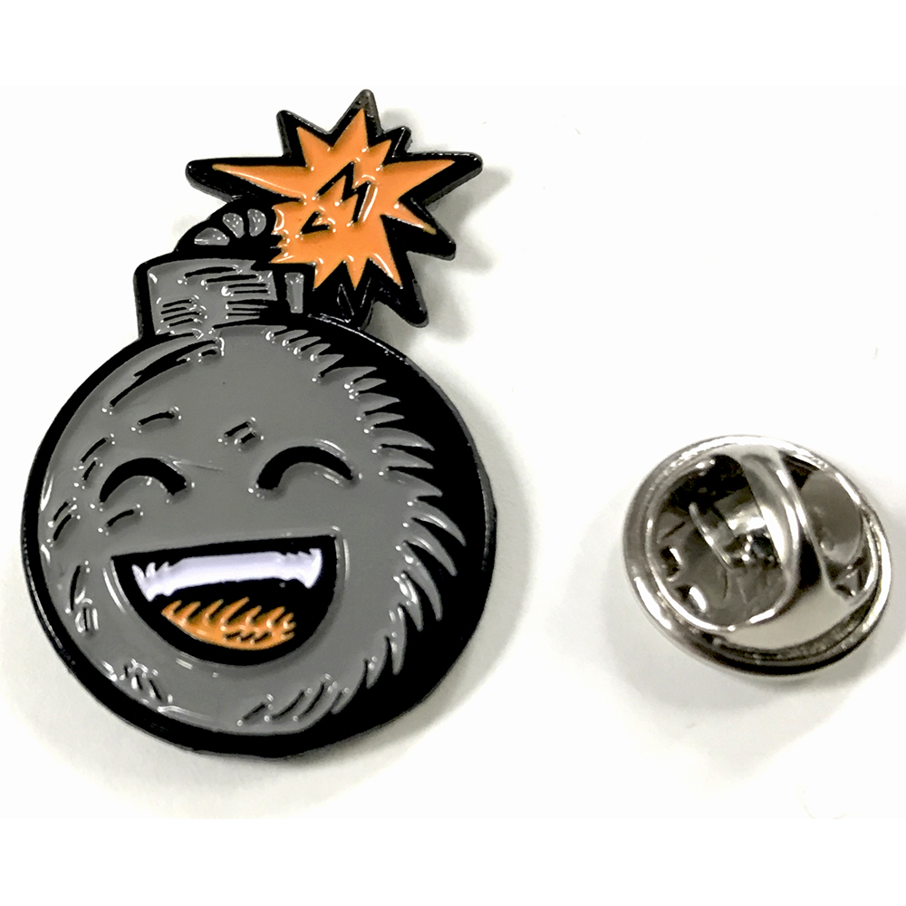 Dan Le Sac - Bomb Enamel Badge