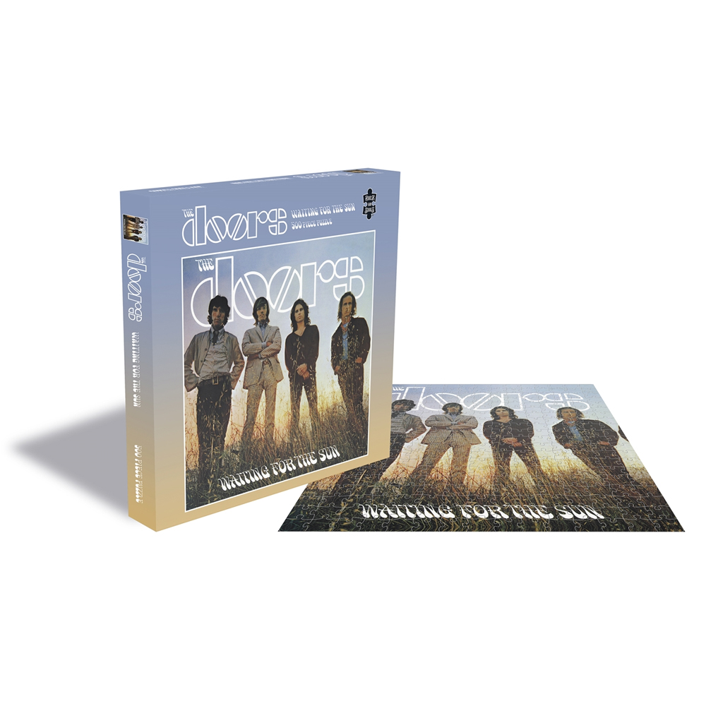 The Doors - Waiting For The Sun (500 Piece Jigsaw Puzzle)