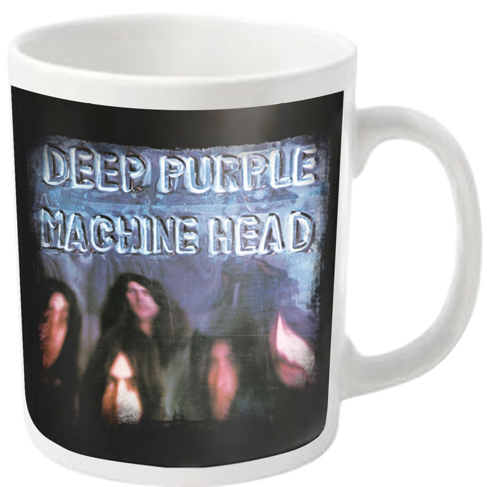 Deep Purple - Machine Head (White Mug)