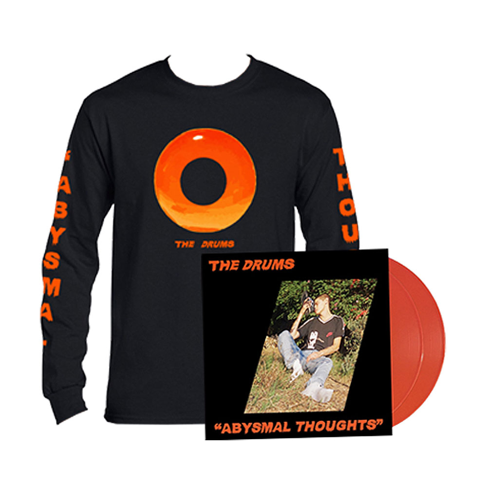The Drums - Abysmal Thoughts (LS Tee + LP Bundle)