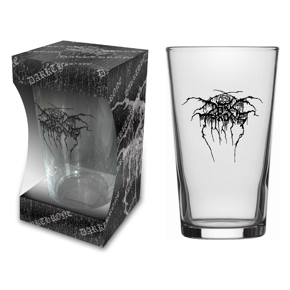Darkthrone - Logo (Beer Glass)