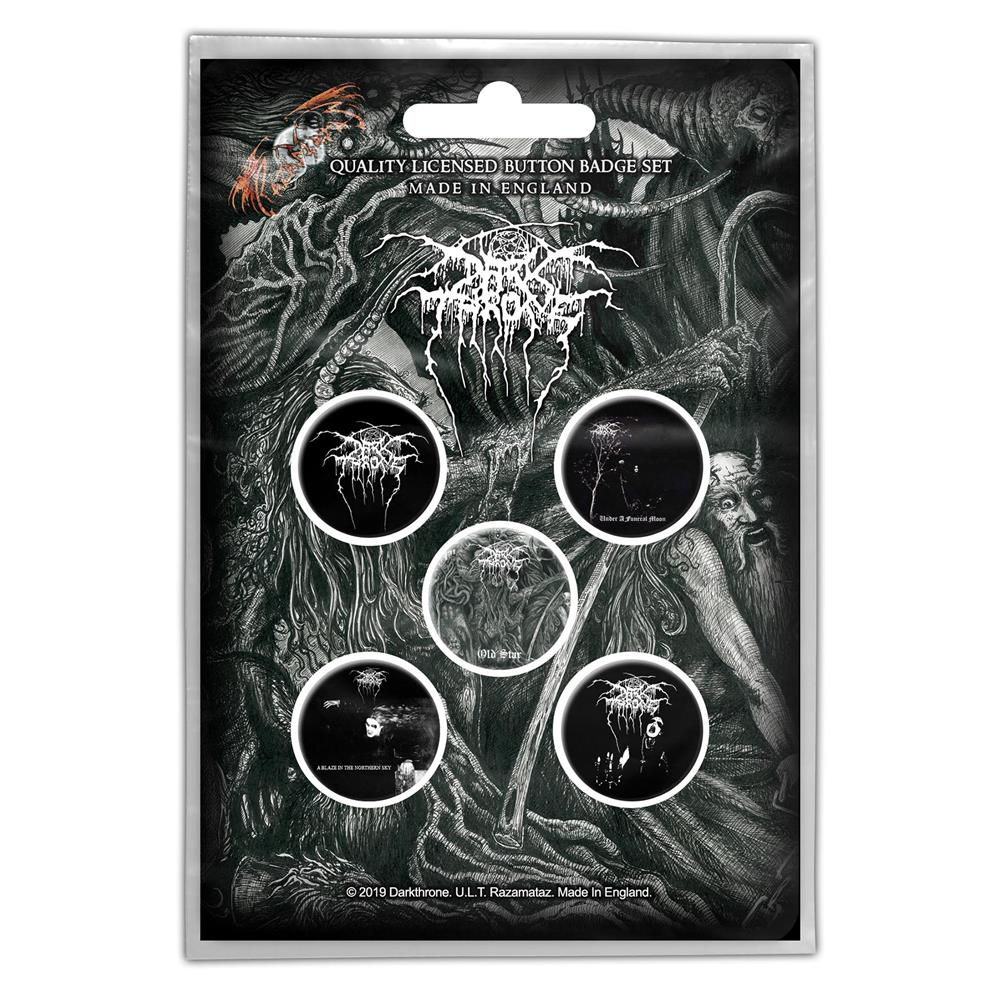 Darkthrone - Old Star (Button Badge Pack)