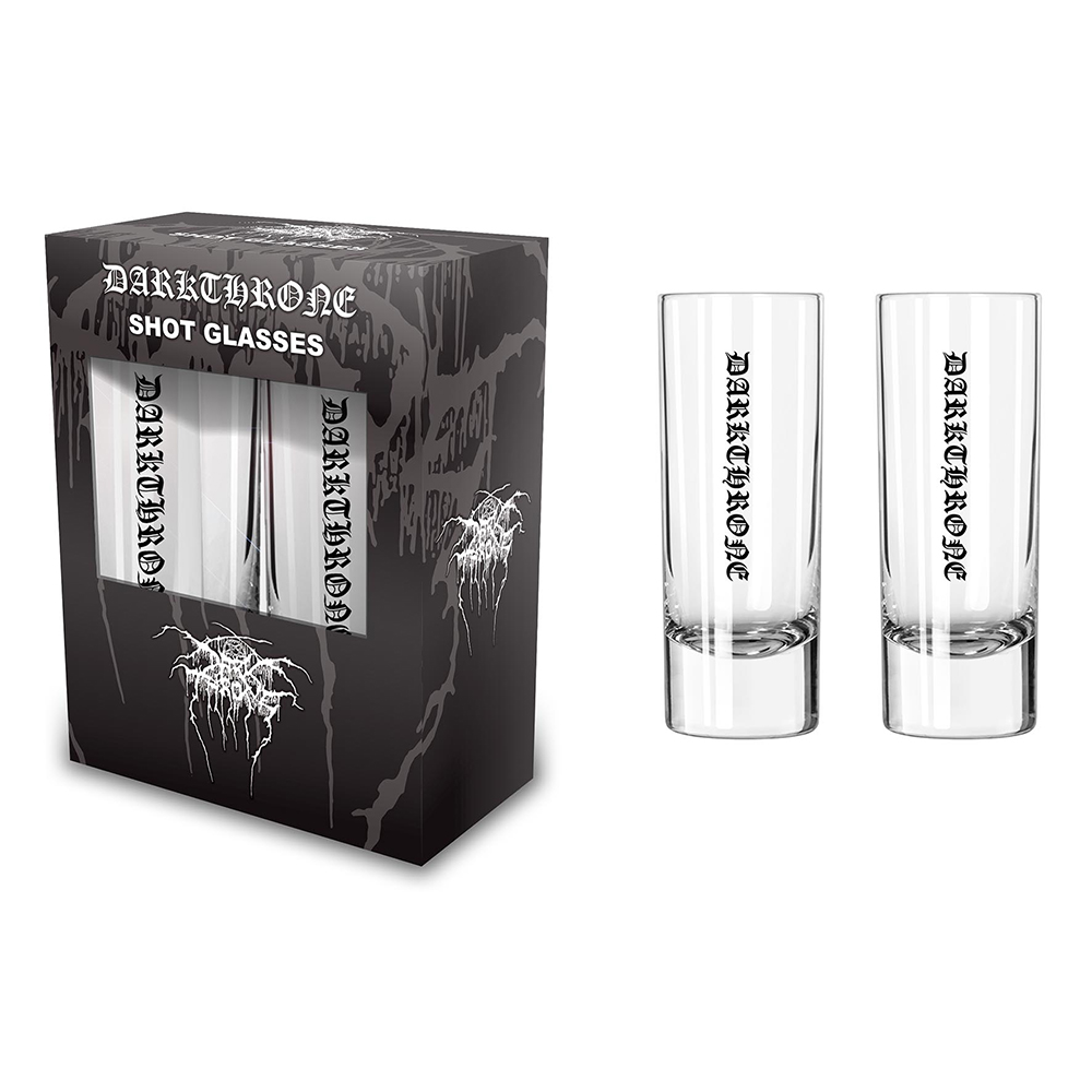 Darkthrone - Logo (Shot Glasses)