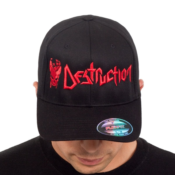 Destruction - Cracked Skull (Black)