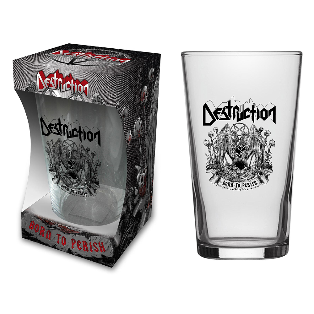 Destruction - Born To Perish (Beer Glass)