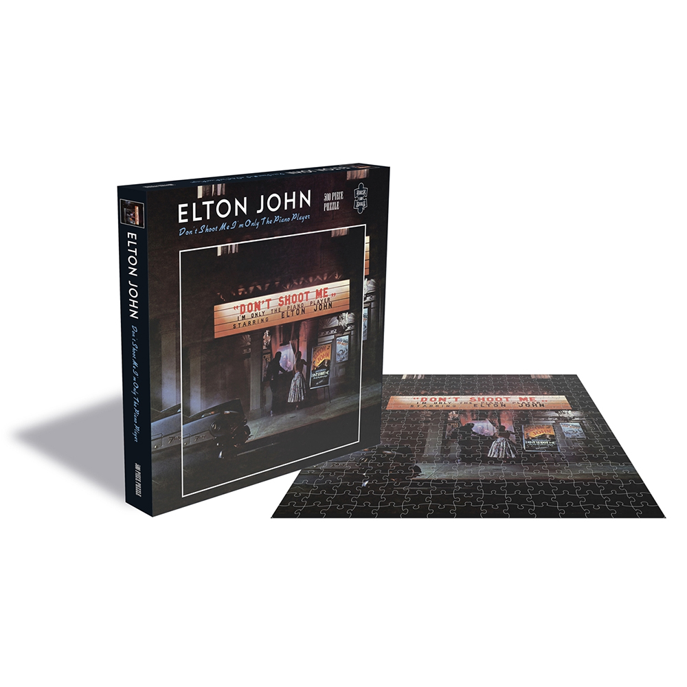 Elton John - Don't Shoot Me I'm Only The Piano Player (500 Piece Jigsaw Puzzle)