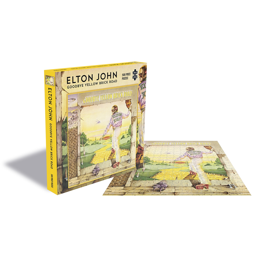 Elton John - Goodbye Yellow Brick Road  (500 Piece Jigsaw Puzzle)