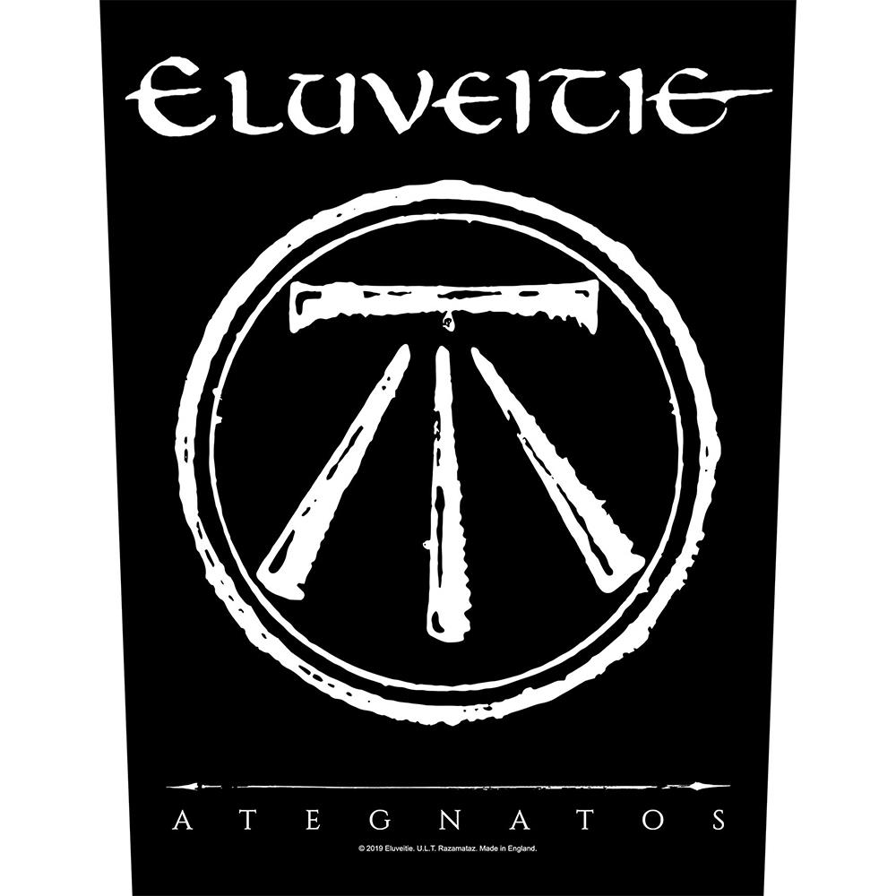 Eluveitie - Ategnatos Backpatch