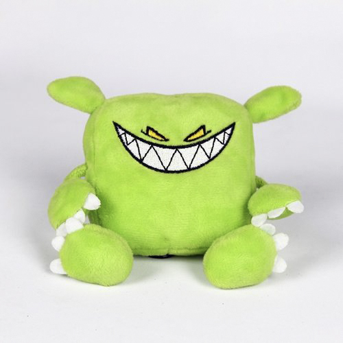 Feed Me - Green Monster Plush Toy