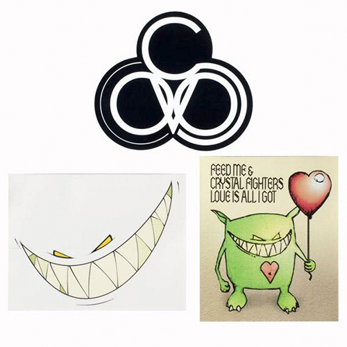 Feed Me - Sticker Pack