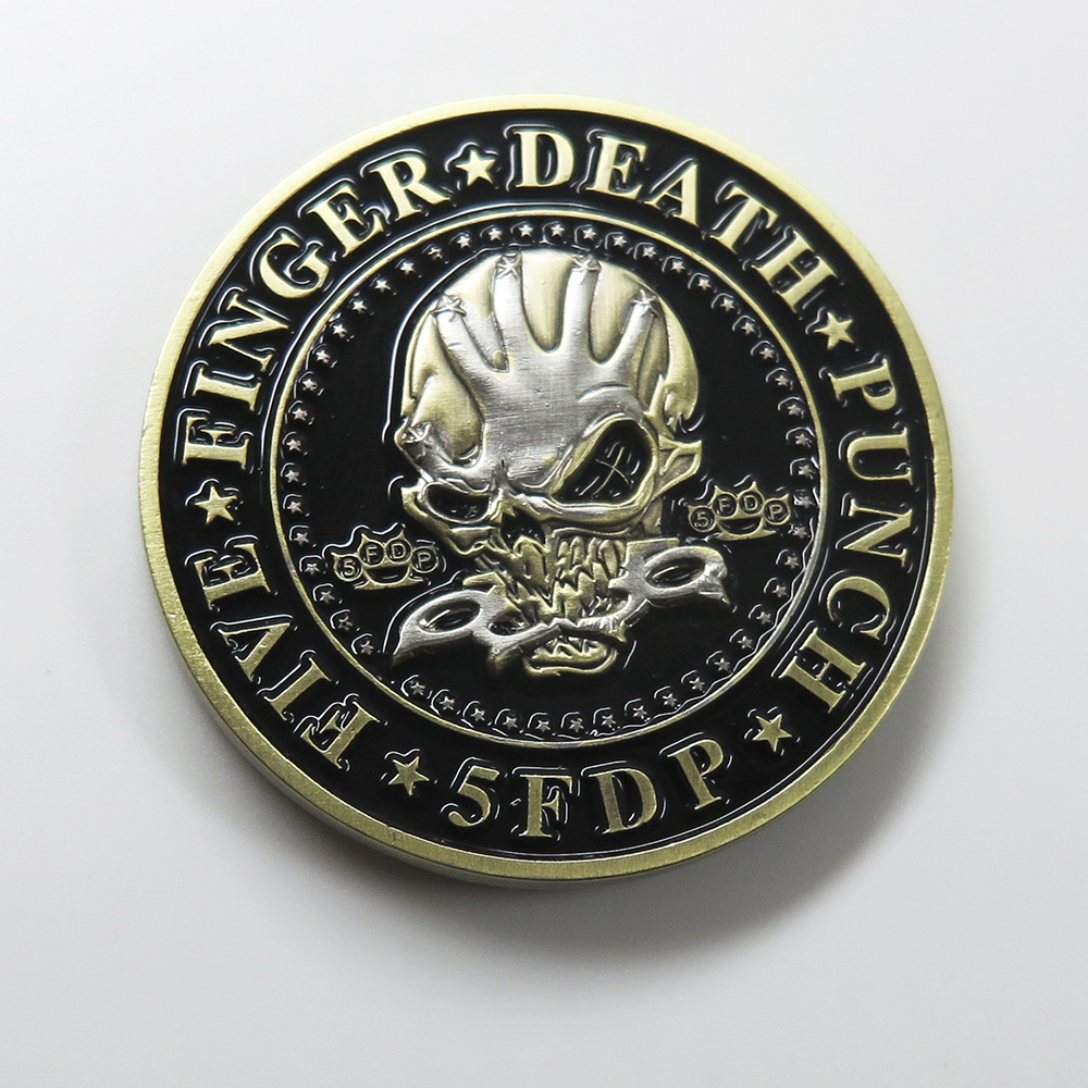 Five Finger Death Punch - Challenge Coin