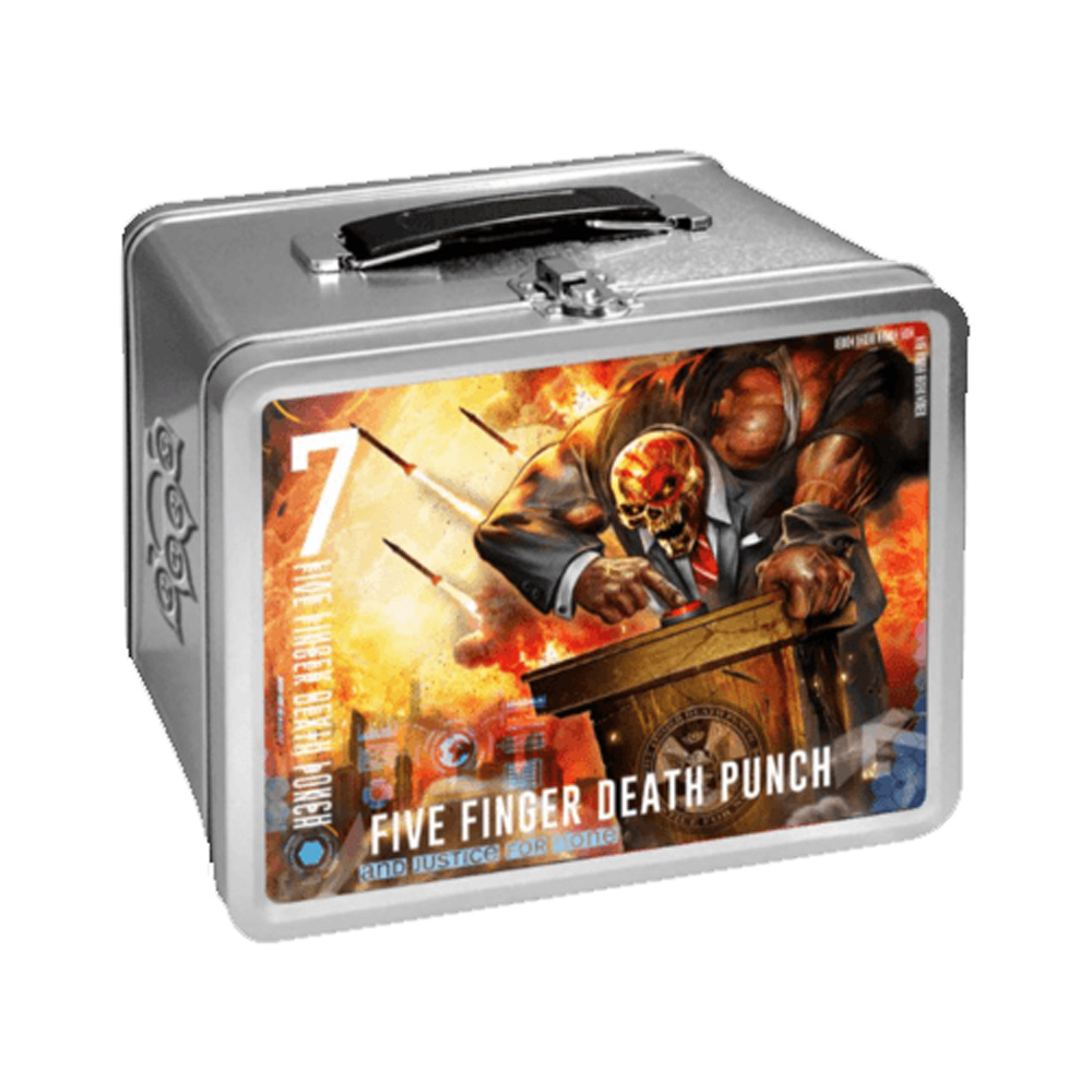 Five Finger Death Punch - And Justice For None Lunchbox