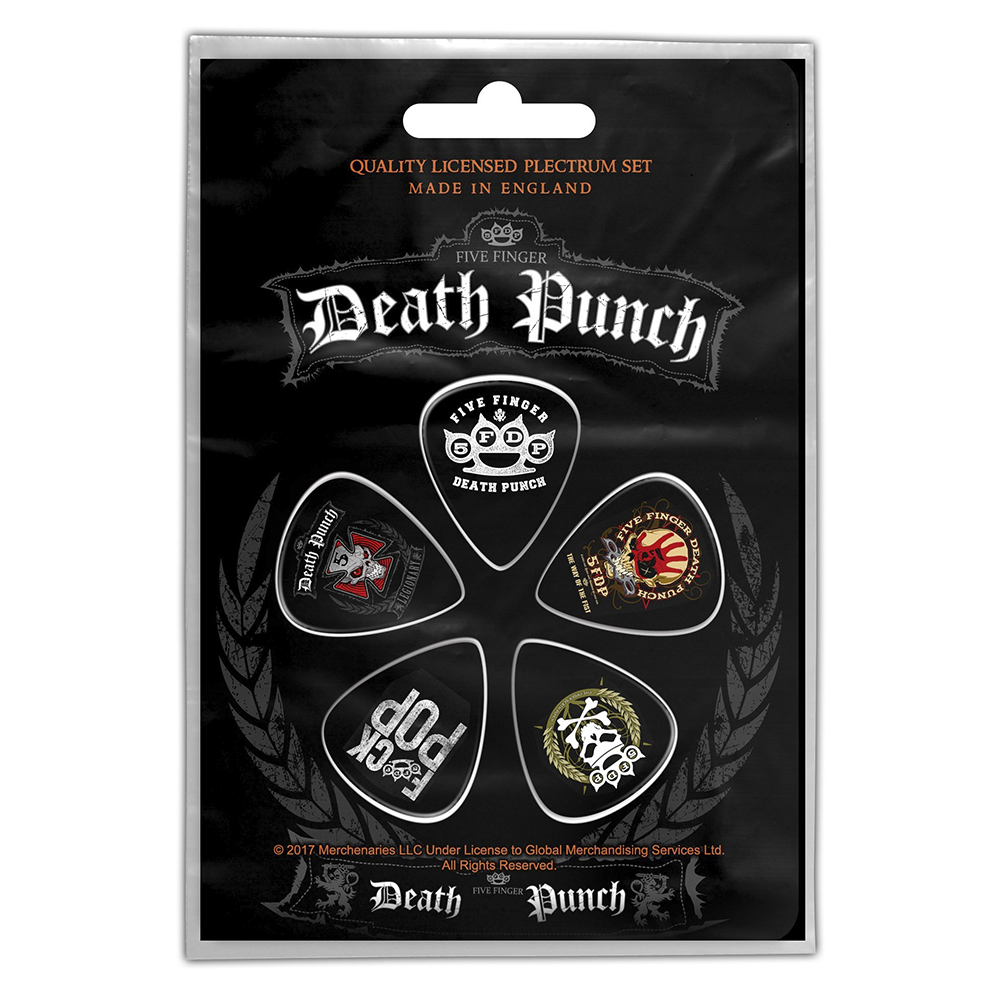Five Finger Death Punch - FFDP Plectrum Pack
