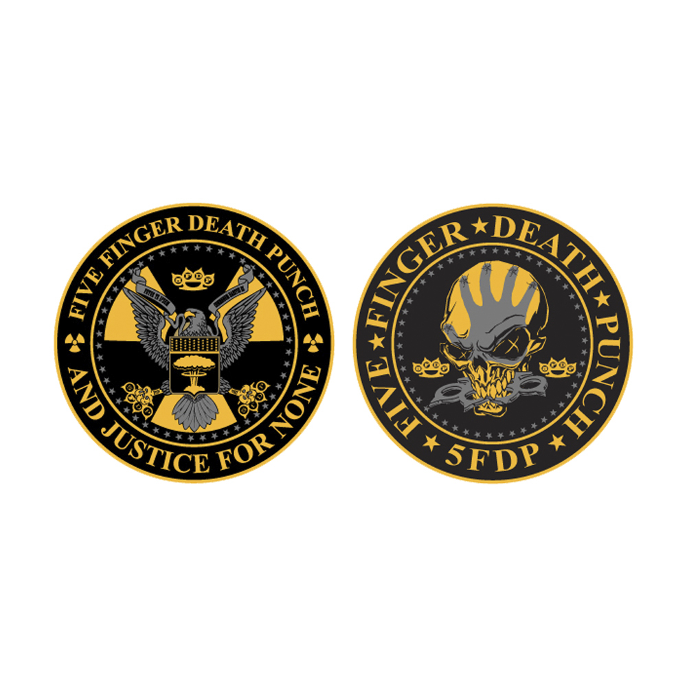 Five Finger Death Punch - Justice For None Patch Set