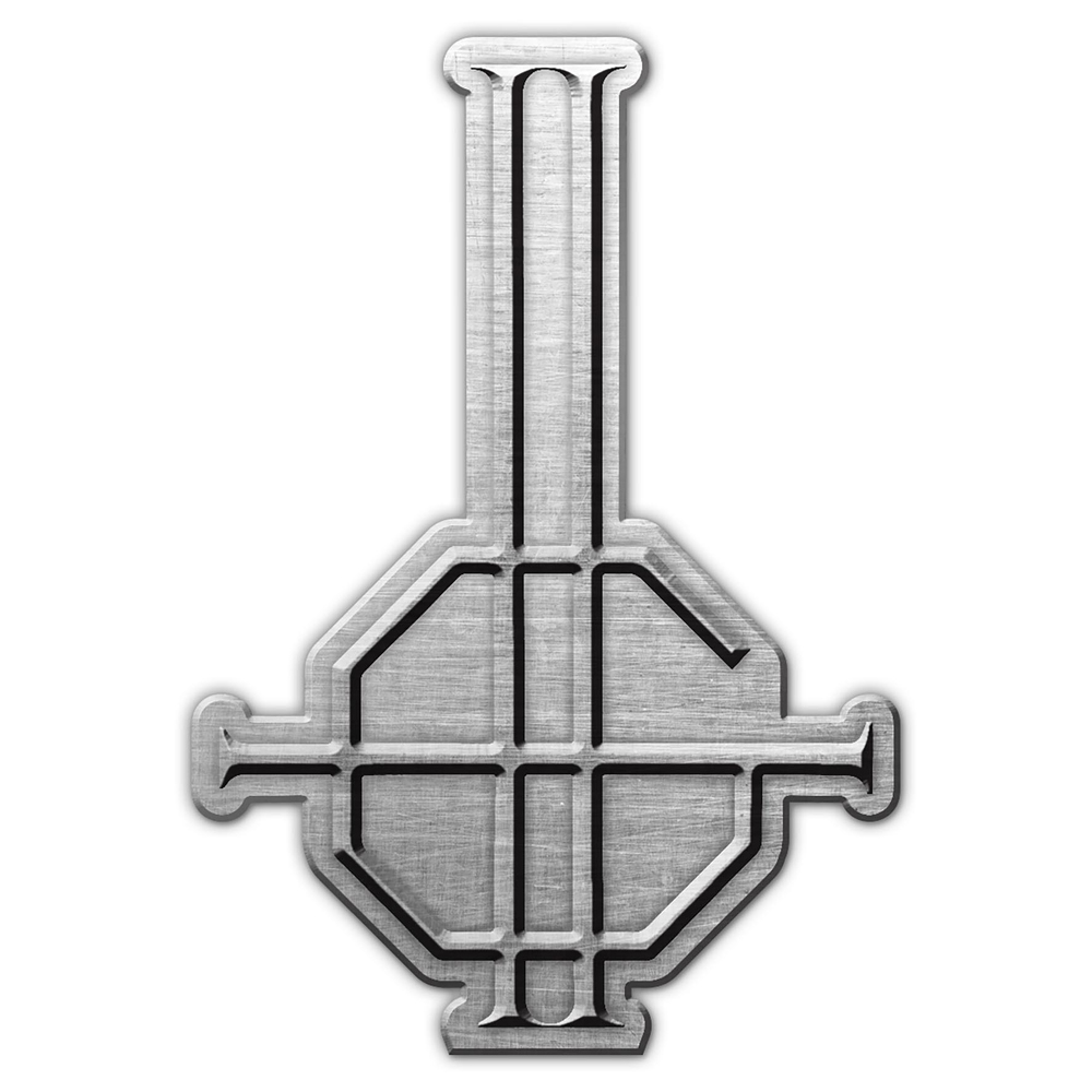 Ghost - Grucifix Metal Pin Badge