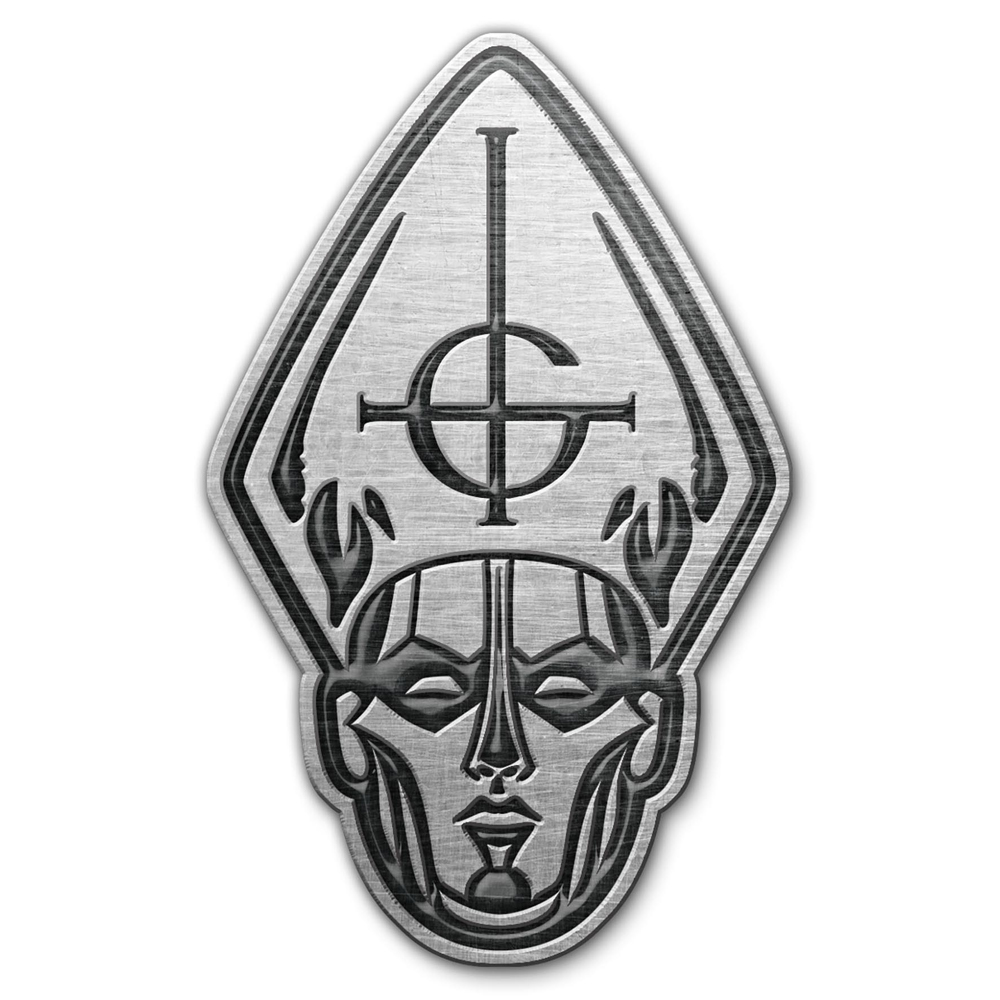 Ghost - Papa Head Metal Pin Badge