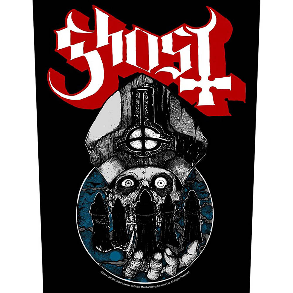 Ghost - Papa Warriors (Back Patch)