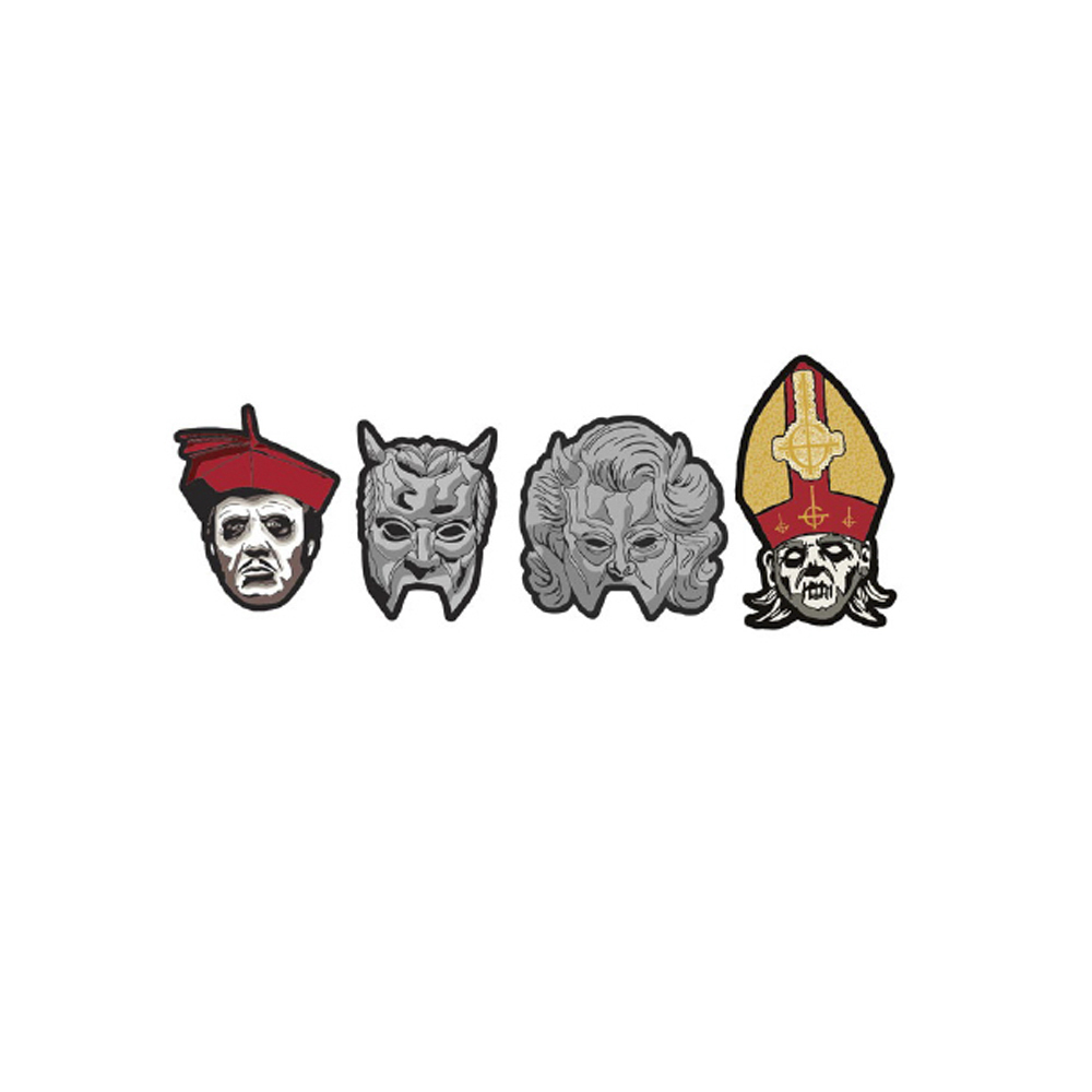 Ghost - Papa Nihil & Friends Woven Patch Set