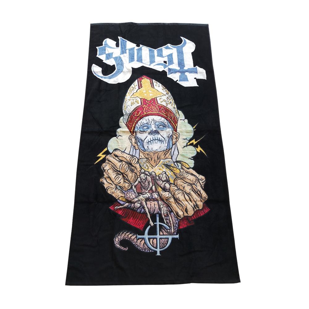 Ghost - Papa Beach Towel