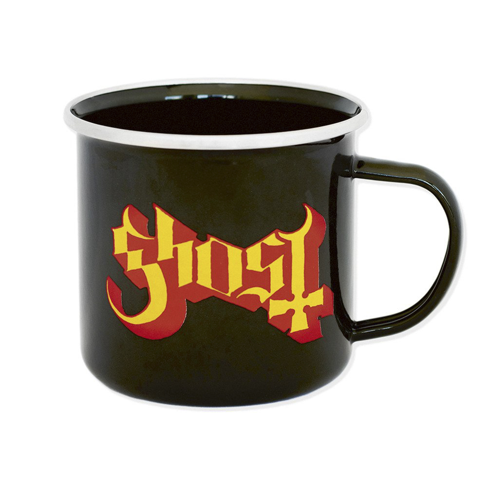 Ghost - Logo (Steel Mug)