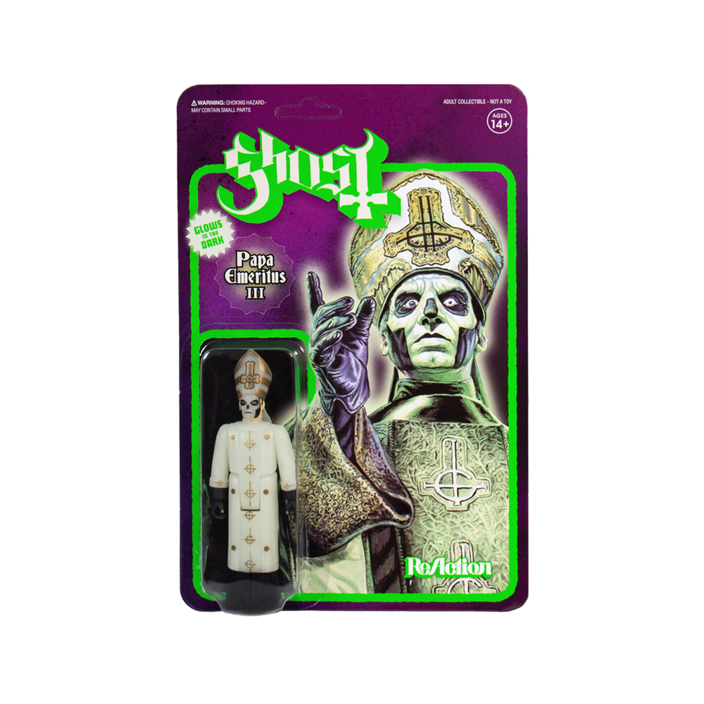 Ghost - Papa Emeritus III Glow In The Dark Figure