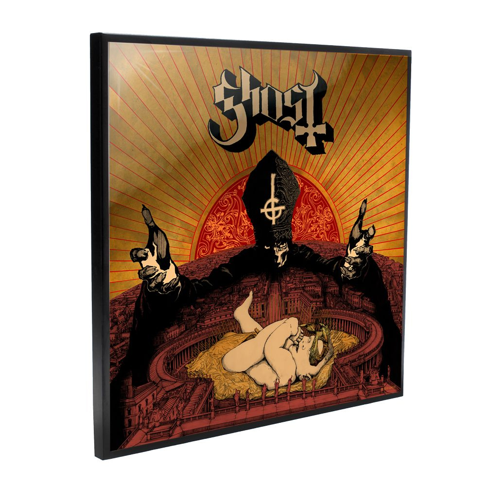 Ghost - Infestissumam Album Cover (Crystal Clear Wall Art)
