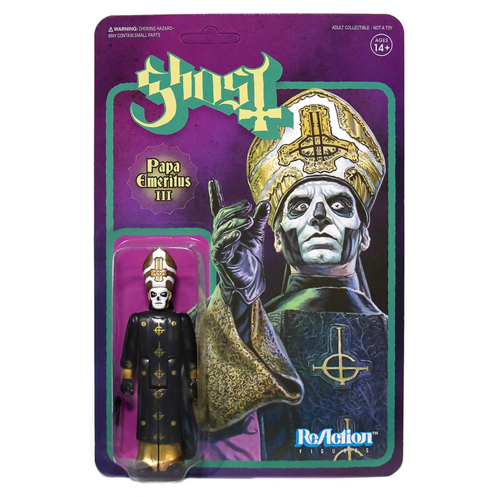 Ghost - Papa Emeritus III (ReAction Figure)