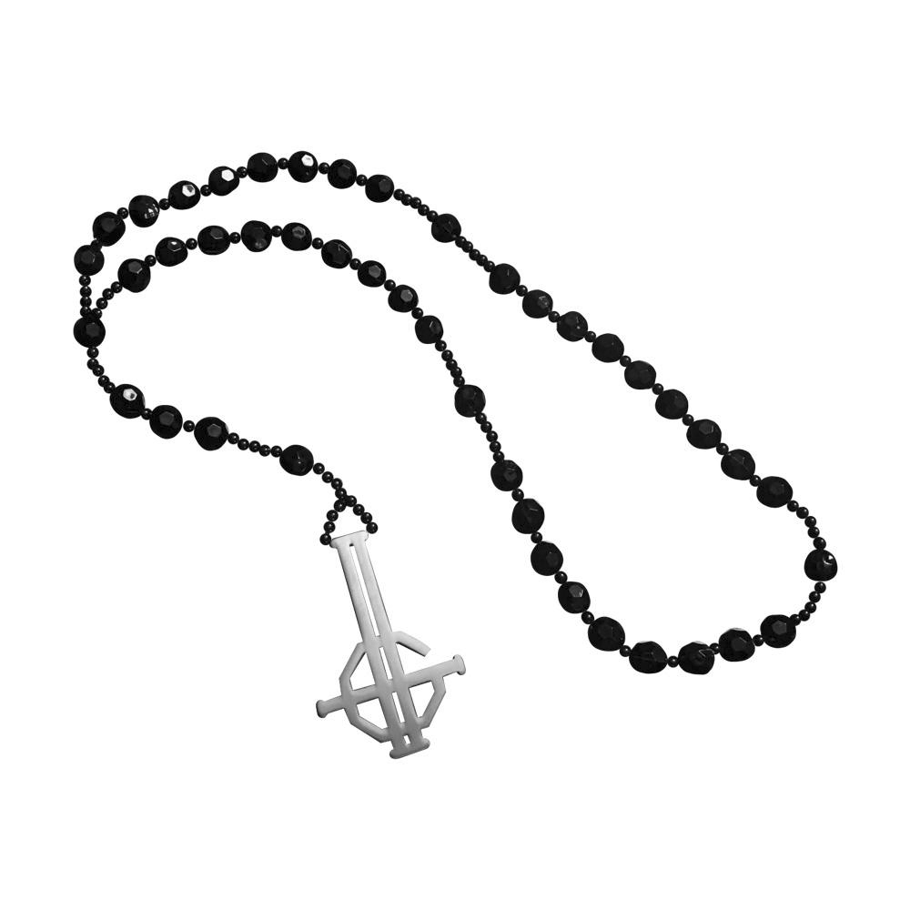 Ghost - Meliora Grucifix Rosary Beads