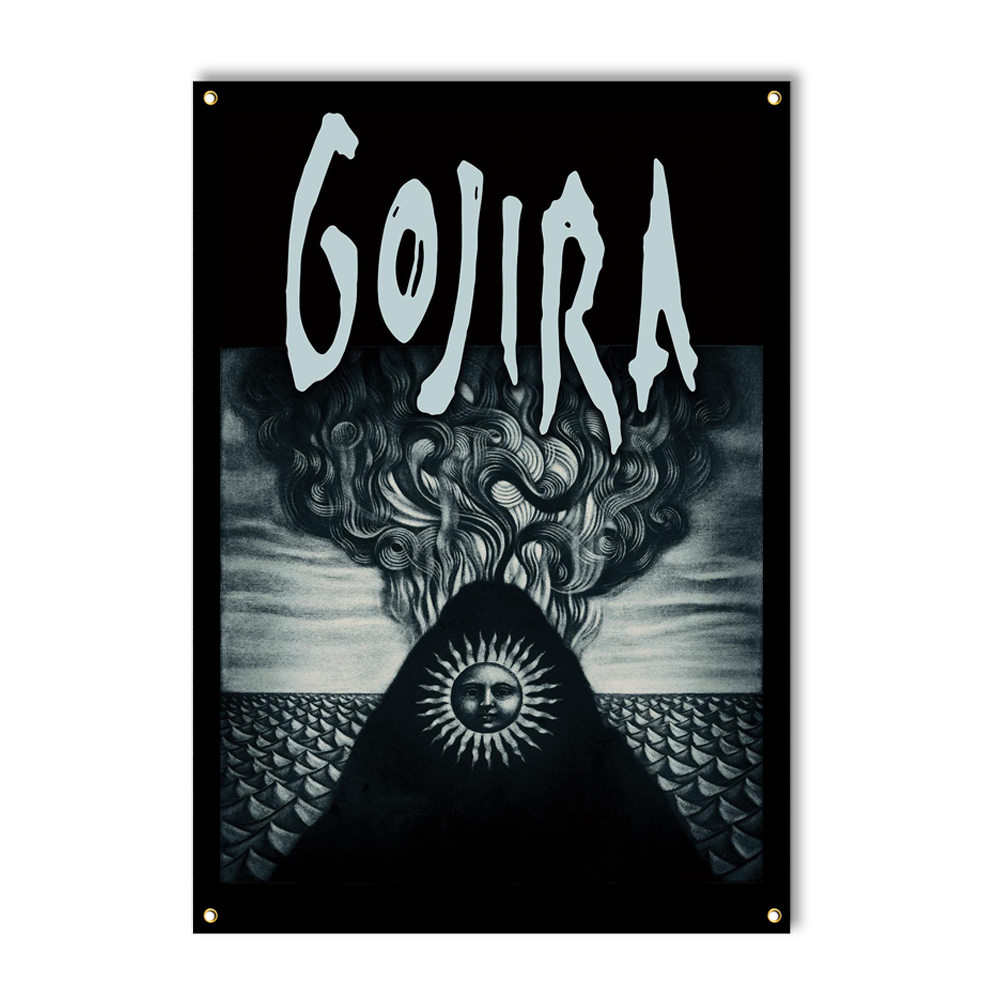 Gojira - Elements Flag 30 X 50 (USA Import Flag)