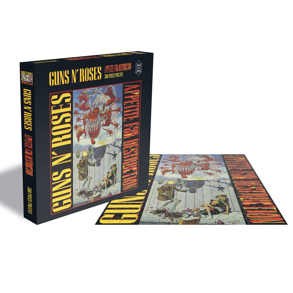 Guns N Roses - Appetite For Destruction (500 Piece Jigsaw Puzzle)