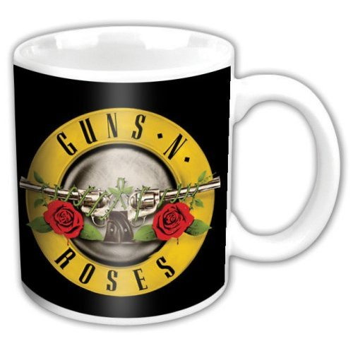 Guns N Roses - Bullet (Mini) (Black and White)