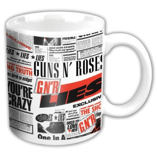 Guns N Roses - Lies (White)